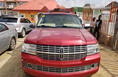 Foreign Used Lincoln Navigator 2007 Model Red