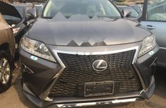 Foreign Used Lexus RX 2015 Model Gray