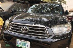 Nigeria Used Toyota Highlander 2009 Model Black