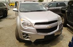 Foreign Used Chevrolet Equinox 2010 Model Silver