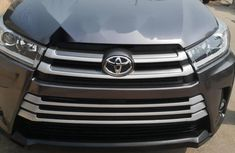 Foreign Used Toyota Highlander 2017 Model Gray