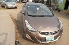 Nigeria Used Hyundai Elantra 2013 Model Brown
