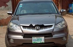 Nigeria Used Acura RDX 2007 Model Gray