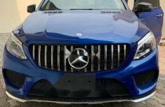 Nigeria Used Mercedes-Benz GLE 2016 Model Blue