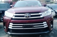Foreign Used Toyota Highlander 2017 Red
