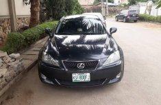 Nigeria Used Lexus IS 2008 Model Gray