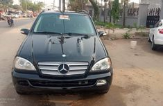Foreign Used Mercedes-Benz ML350 2005 Model Black