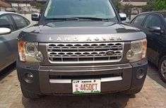Nigeria Used Land Rover LR3 2006 Model Gray