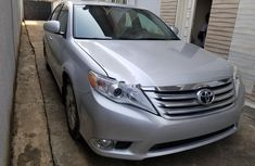 Foreign Used Toyota Avalon 2011 Model Silver