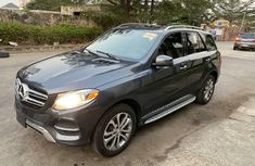 Foreign Used Mercedes-Benz GLE 2016 Model Gray
