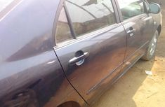 Nigerian Used Toyota Corolla1.8 automatic 2007 Model