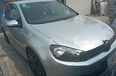 Nigeria Used Volkswagen Golf 2013 Model Silver