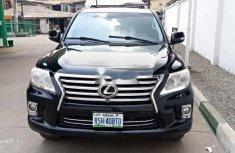 Nigeria Used Lexus LX 2009 Model Black
