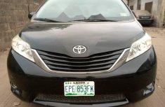 Nigeria Used Toyota Sienna 2012 Model Black