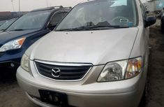 Foreign Used Mazda MPV 2002 Model Gold