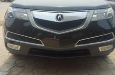 Foreign Used Acura MDX 2012 Model Black