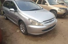 Foreign Used Peugeot 307 2003 Model Silver