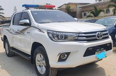Nigeria Used Toyota Hilux 2018 Model White
