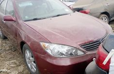 Foreign Used Toyota Camry 2004 Model Red