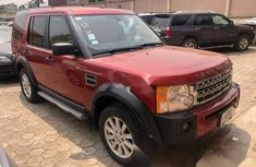 Nigeria Used Land Rover LR3 2007 Model Red