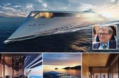 World's second richest man Bill Gates acquires ₦234bhydrogen-powered superyacht