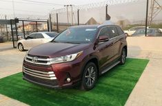 Foreign Used Toyota Highlander 2017 Model Red