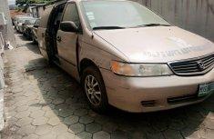 Nigeria Used Honda Odyssey 2000 Model Gold