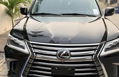 Foreign Used Lexus 570 2016 Model Black