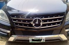 Nigeria Used Mercedes-Benz ML350 2015 Model Black