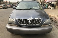 Nigeria Used Lexus RX 2000 Model Blue