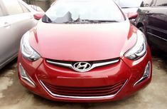 Foreign Used Hyundai Elantra 2014 Model Red
