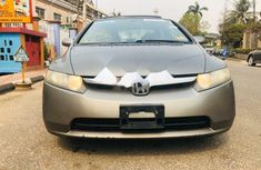 Foreign Used Honda Civic 2006 Model Brown