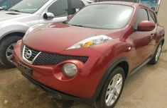 Foreign Used Nissan Juke 2011 Model Red