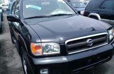 Foreign Used Nissan Pathfinder 2003 Model Black