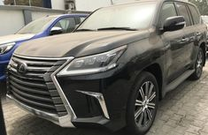 Foreign Used Lexus 570 2019 Model Black
