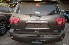 Foreign Used 2009 Grey Toyota Sequoia for sale in Lagos