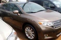 Nigeria Used Toyota Venza 2009 Model Gold