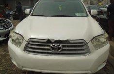 Clean Tokunbo Toyota Highlander 2011 Model