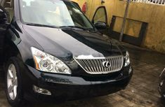 Foreign Used Lexus RX 2008 Model Black