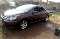 Nigeria Used Peugeot 307 2006 Model Red