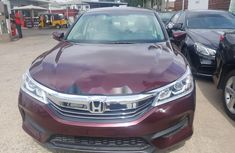 Foreign Used Honda Accord 2016 Model for Sale