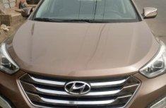 Nigeria Used Hyundai Santa Fe 2013 Model Brown