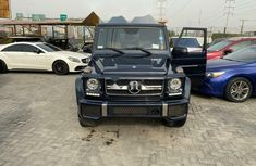 Foreign Used Mercedes-Benz G63 2017 Model Black