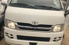 Foreign Used Toyota HiAce 2010 Model White