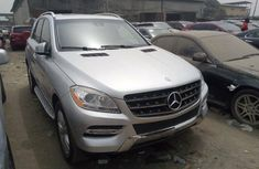 Foreign Used Mercedes-Benz ML350 2012 Model Silver