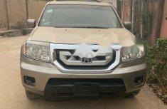 Nigeria Used Honda Pilot 2009 Model Gold