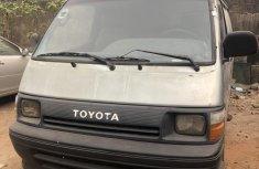 Nigeria Used Toyota HiAce 2001 Model Silver