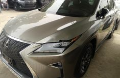 Foreign Used Lexus RX 2017 Model Gold