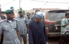 Customs impound 283 vehicles in mass seizures
