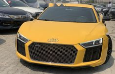 Nigeria Used Audi R8 2016 Model Yellow